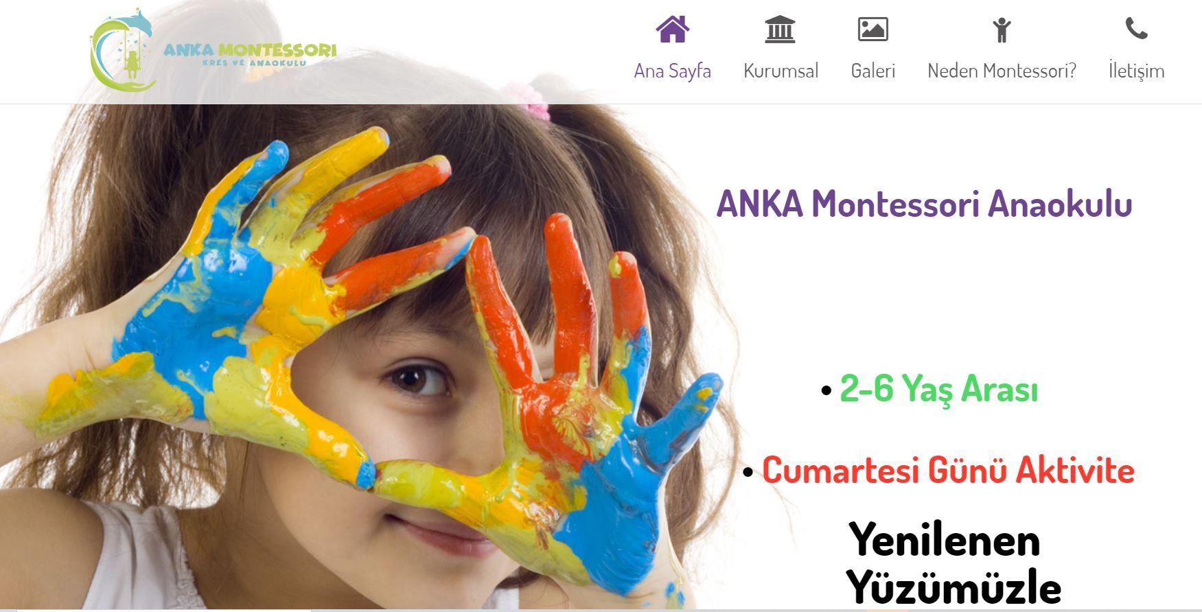 webleniyorum montessori anaokulu projesi